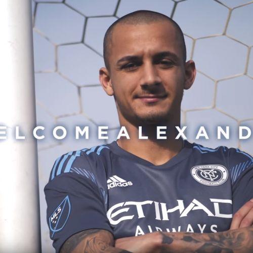 VIDEO / Alexandru Mitriță, prezentat la New York FC