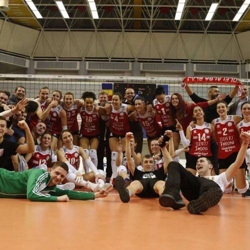 Semifinală românească în Cupa CEV la volei feminin: Alba Blaj-Știința Bacău