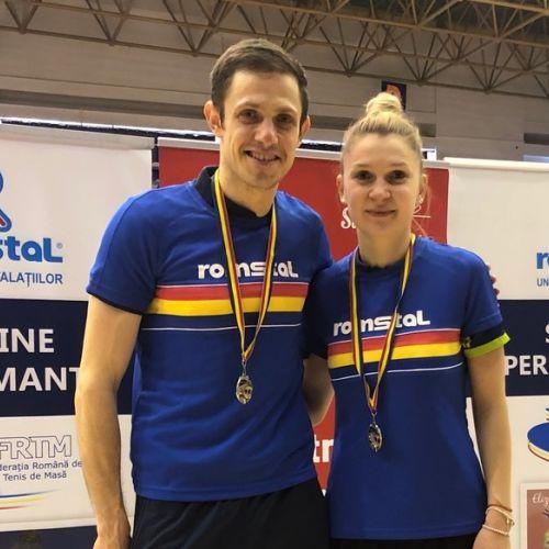Daniela Dodean și Ovidiu Ionescu, campioni naționali de tenis de masă