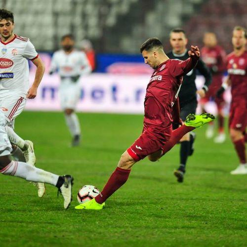 CFR Cluj, victorie grea cu Sepsi, într-un meci cu tensiune și eliminări