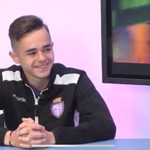 Exclusiv/ Interviu cu Denis Radu, tânărul talent din curtea lui ASU Poli