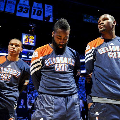 Dinastii neîmplinite: Trei superstaruri nu au fost îndeajuns pentru un titlu în Oklahoma