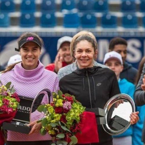 Perechea Sorana Cîrstea - Andreea Mitu a câștigat turneul de la Lugano