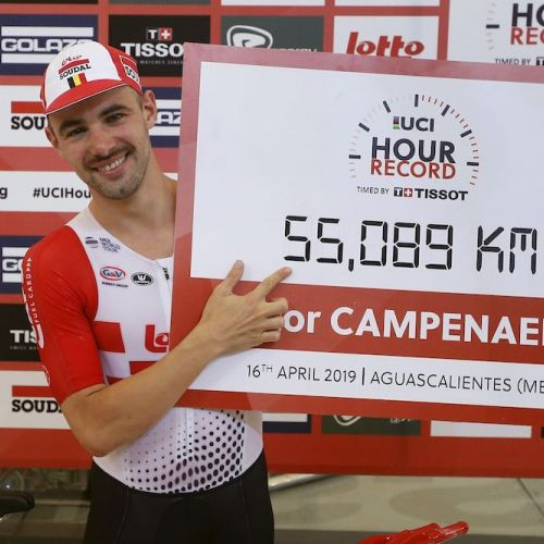 Record mondial la ciclism, realizat de belgianul Victor Campenaerts
