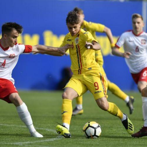 VIDEO / Naţionala de fotbal sub 16 ani a pierdut cu Polonia la Turneul celor 4 Naţiuni