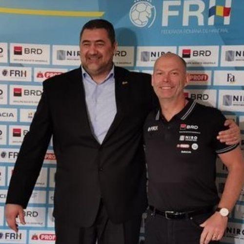 Tomas Ryde va fi din nou selecționerul echipei României de handbal feminin