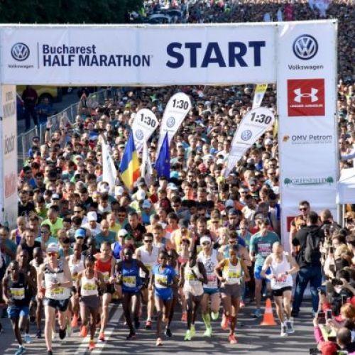 Kenyenii au câştigat Semimaratonul Internaţional Bucureşti
