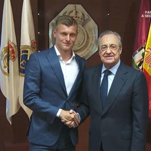VIDEO / Kroos și-a prelungit contractul cu Real Madrid
