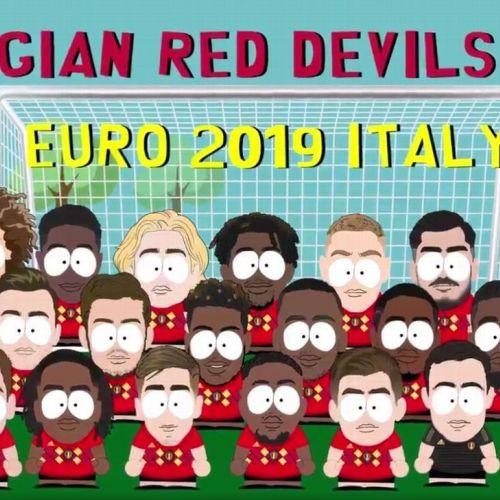 VIDEO / Naționala de tineret a Belgiei, prezentată ca în South Park