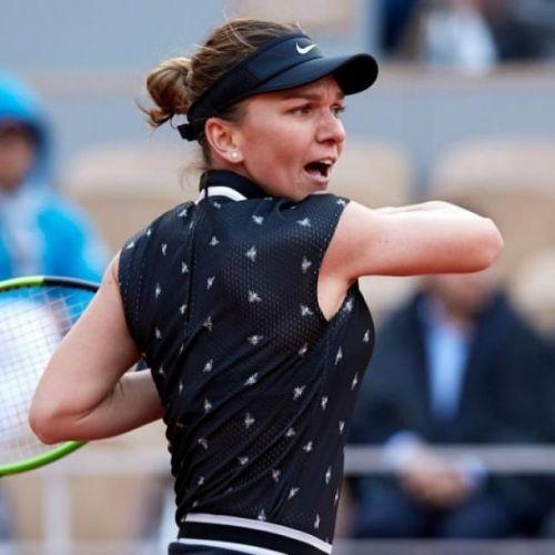 Halep, eliminată de la Roland Garros de revelația Anisimova. Reacțiile celor două