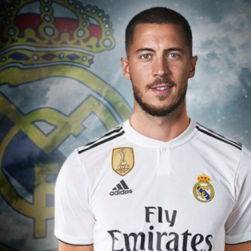 Eden Hazard a semnat cu Real Madrid