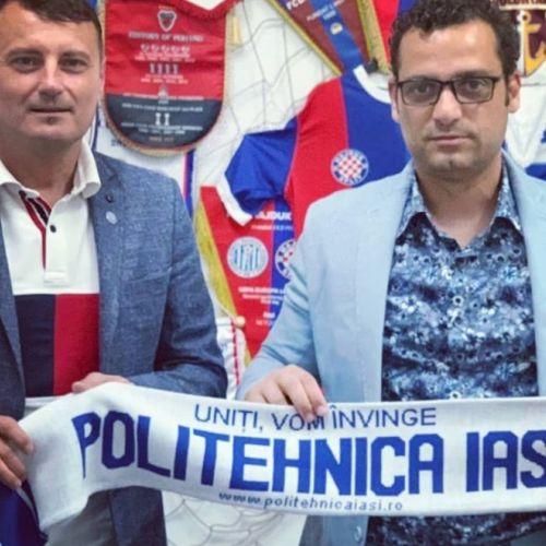 Mihai Teja este noul antrenor al lui Poli Iași