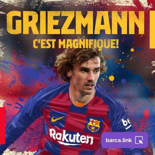 Griezmann a semnat cu FC Barcelona
