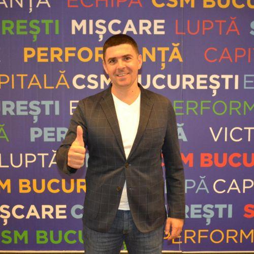 Vlad Enăchescu, numit coordonator al secției de handbal la CSM București