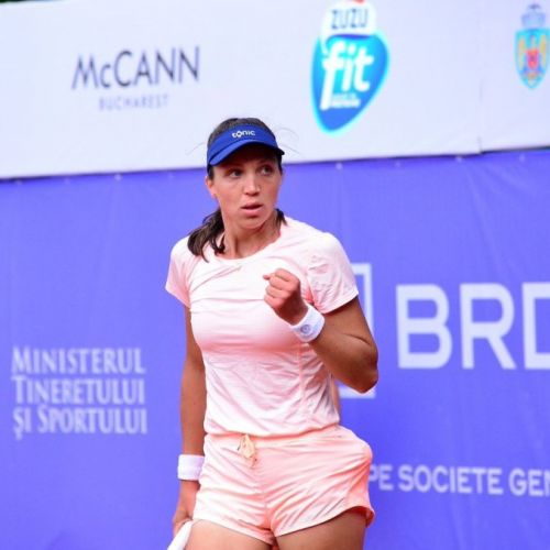 Patricia Țig a pierdut în ultimul act la BRD Bucharest Open