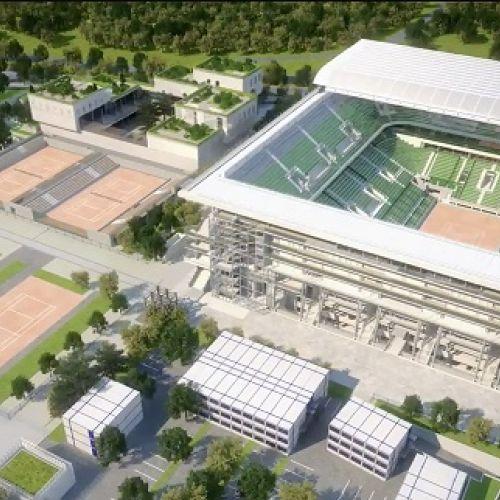 Turneul de la Roland Garros va avea terenuri cu acoperiș retractabil