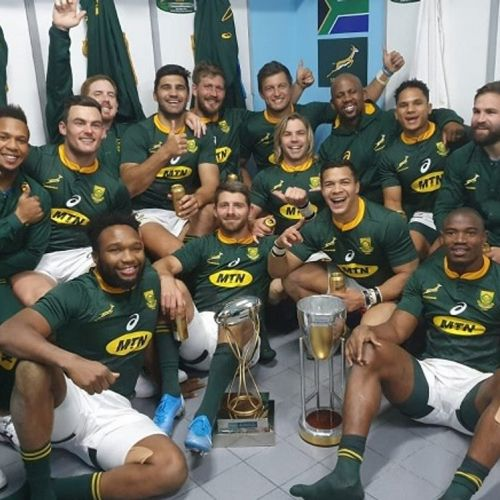 Africa de Sud a câștigat turneul Rugby Championship