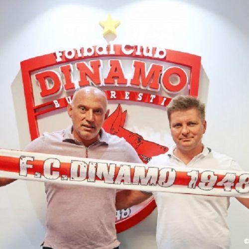 Dusan Uhrin Jr. este noul antrenor al lui Dinamo