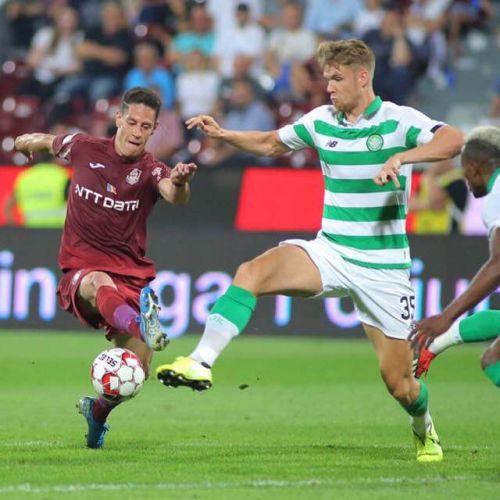 CFR Cluj, elogiată în presa internațională după eliminarea lui Celtic