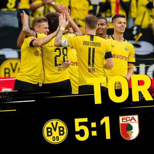 Bundesliga: Dortmund debutează în forță. Mainz-ul lui Maxim pierde la scor. Rezultatele primei etape