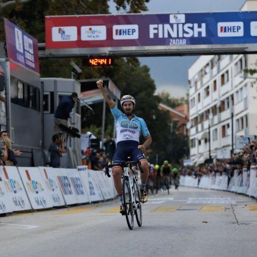 VIDEO / Eduard Grosu a câștigat etapa a doua a Turului Croației