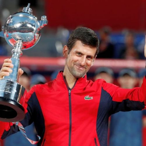 Novak Djokovic a câștigat turneul de la Tokyo
