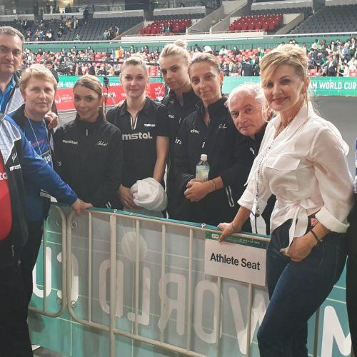 Naționala feminină de tenis de masă a României, învinsă de Japonia la Cupa Mondială
