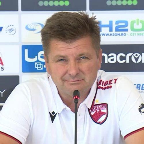 Dusan Uhrin Jr spune că nu va pleca de la Dinamo în ciuda problemelor financiare