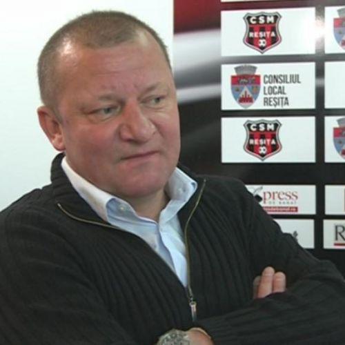 Liga 2: Dorinel Munteanu este noul antrenor al lui CSM Reșița