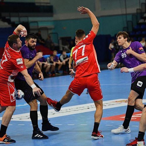 Încă un succes pentru Dinamo în Liga Campionilor la handbal masculin