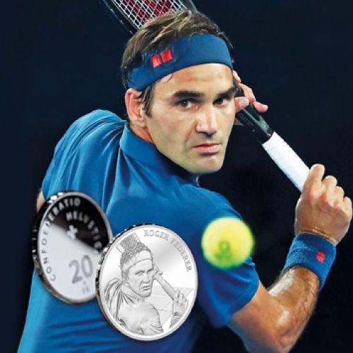 Federer, primul elvețian în viață a cărui figură va fi gravată pe monede