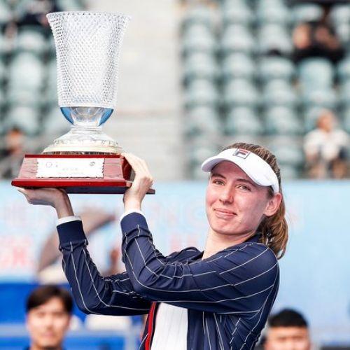 Ekaterina Alexandrova, prima câștigătoare a unui turneu WTA în 2020