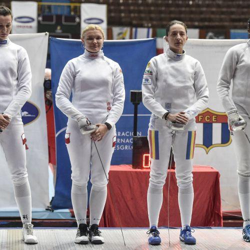 Ana-Maria Popescu, argint la etapa de Cupă Mondială de la Havana