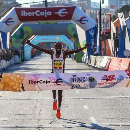 Record mondial în proba de 10 km, reușit de kenyanul Rhonex Kipruto