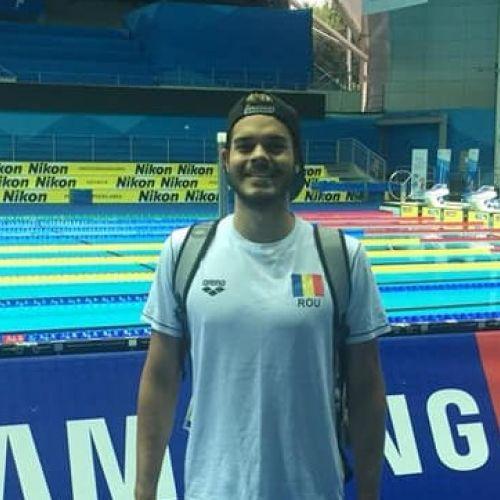 Robert Glință, argint la Beijing, în ultima etapă a FINA Champions Swim Serie