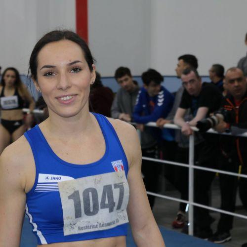 Performerii Campionatului Național indoor de atletism: Florentina Iușco, Mihai Donisan, Daniela Stanciu și Bianca Răzor