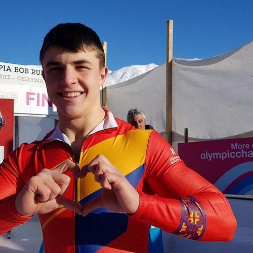Andrei Nica, aur la Jocurile Olimpice de iarnă pentru tineret de la Lausanne