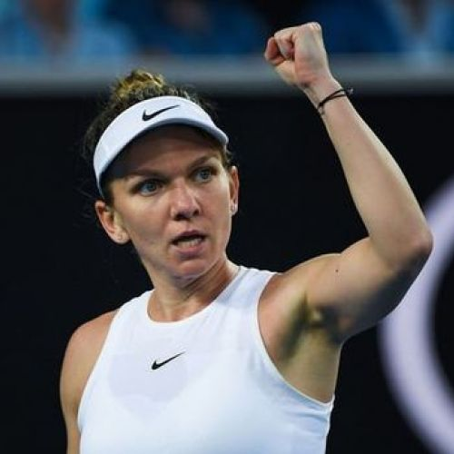 Halep, victorioasă în primul tur la Australian Open