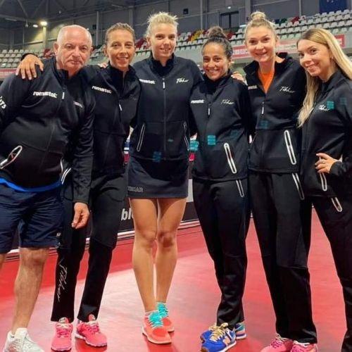Naționala feminină de tenis de masă, calificată la Jocurile Olimpice