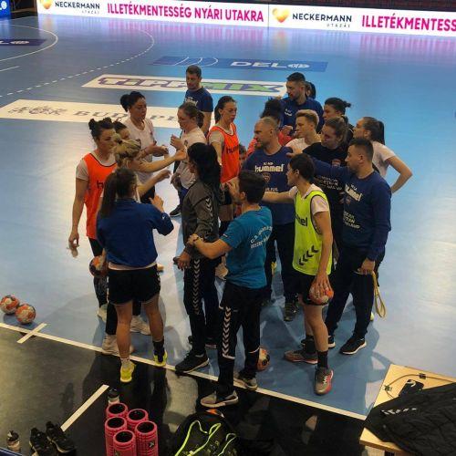 Gloria Bistrița, calificată în sferturile Cupei EHF la handbal feminin. Măgura Cisnădie, eliminată