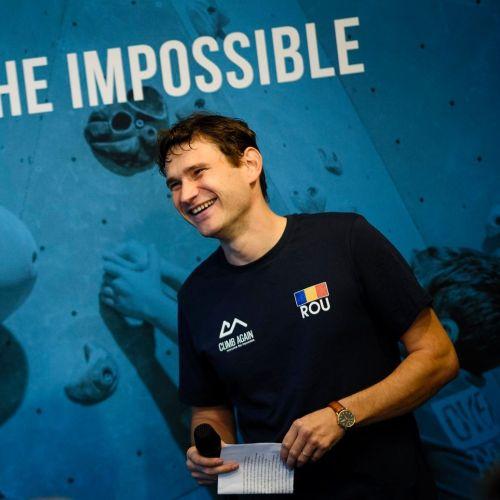 Escalada, sportul speranței. Interviu cu Claudiu Miu, fondatorul Climb Again, un proiect pentru cei dornici să-și depășească limitele