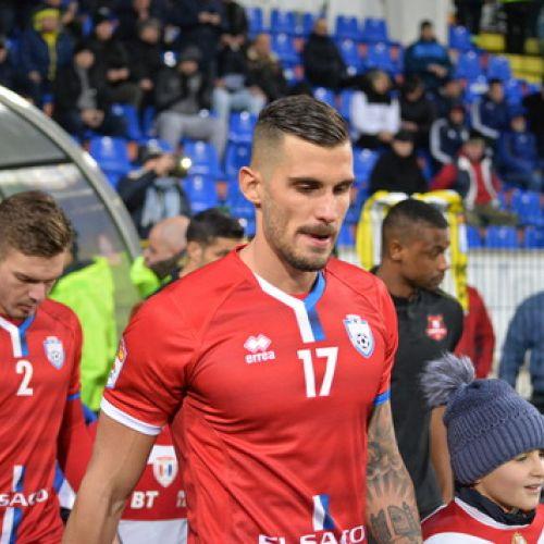 Dugandzic, eroul lui FC Botoșani, un vârf prea bun pentru Liga 1