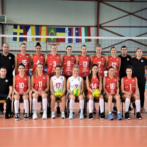 Federația Română de Volei a desemnat campioanele naționale: Alba Blaj și Aracada Galați