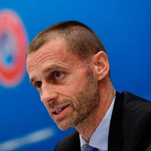 Fotbalul nu se va schimba din cauza unui virus, declară președintele UEFA