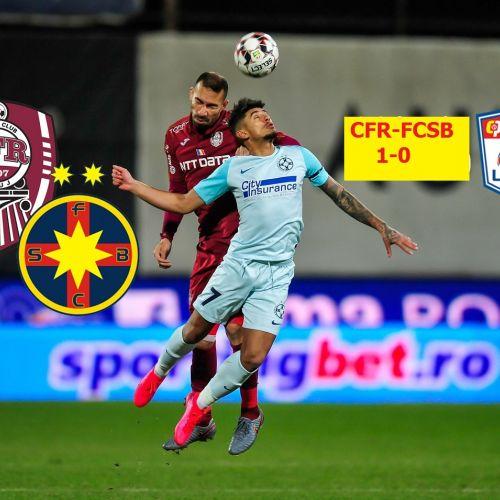 Liga 1: Nici nu s-a reluat bine campionatul că lupta la titlu pare tranșată, după CFR-FCSB 1-0