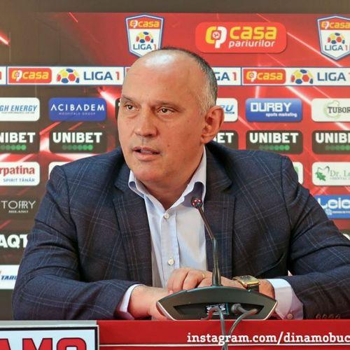 Florin Punea nu mai este președinte la Dinamo