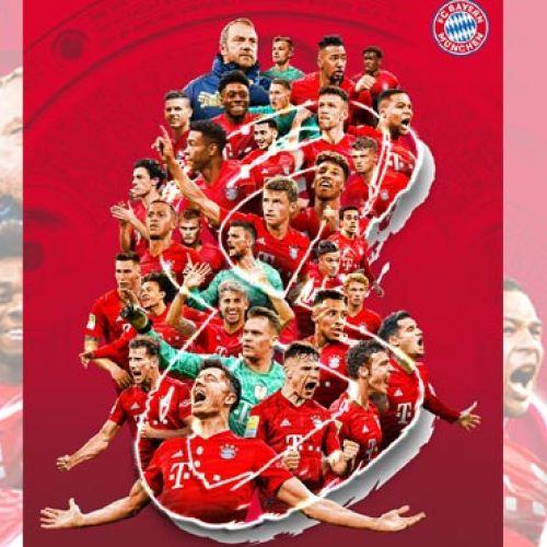 Indestructibili. Bayern Munchen, pentru a opta oară consecutiv campioana Germaniei