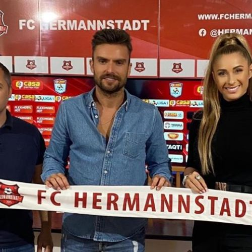 FC Hermannstadt și-a prezentat noul antrenor, Ruben Albes