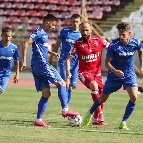 Dinamo pierde cu Voluntari și este codașă în Liga 1. Antrenorul Mihalcea nu vede dezastrul