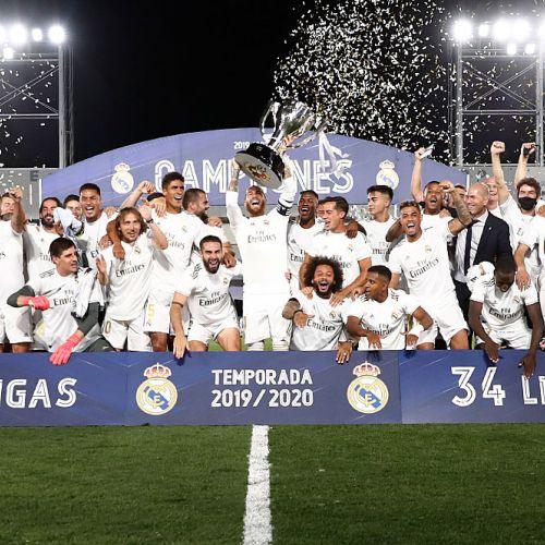 Real Madrid a devenit campioana Spaniei. Mallorca a retrogradat